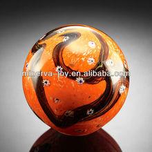 Wonderful Yellow Black Crystal Sphere Glass sphere