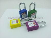 hardened steel padlocks with steel shackle