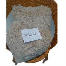 Long Plush Hair Cushion Design Square&Heart-shaped Pattern
