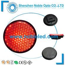 full cluster red led traffic light module 300mm