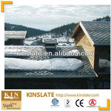Passed ASTM and EN12326 Slate Roof Tiles Black Slate Roof Tiles Natural Stone Slate Roof Tiles