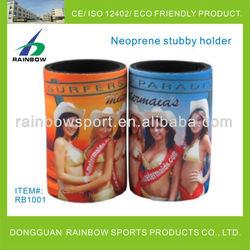Beer bottle cooler neoprene stubby holder
