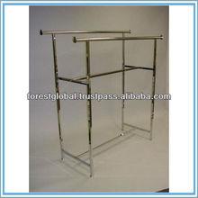 Metal Display Rack For Clothing/Garment Display