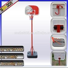 mini plastic basketball goal for kids with PP backboard