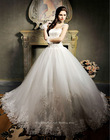 Quality Made Designer Capsleeve Lace Wedding Dress