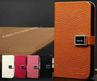 Genuine Leather Business Style Case for iPhone 4S/4
