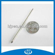 Smooth Writing Metal Pen Refill, Mini Ball Pen Refill
