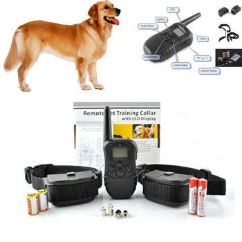 998D 300 meters remote control electronic shock anti bark pet dog training collar hot sale