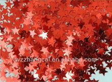 Red Star Shaped Wedding Table Confetti /Valentine's day confetti