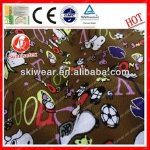 2015 Anti pilling shrink-resistant fabric for dolls clothes