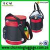 can shaped cooler bag/round cooler ice bag/thermal bag