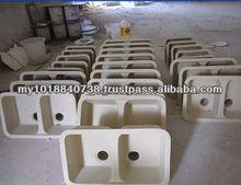 Bensonite solid surface bathroom basin manufacture