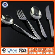 High Quality Porcelain Handle Cutlery Set/Tableware Set