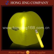 Promotional glow beach ball