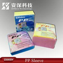 7.5mm pp case cd/dvd sleevecd dvd paper sleeves