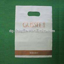 square bottom plastic shopping bag with logo printing