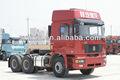 Camion utilisé/6x4 shacman camion remorque tracteur léger prix pour la vente