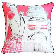 High Quality Digital Printed Designer Silk Cushion Cover