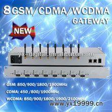 wcdma gsm gateway 8 port 32 sim card 8 port voip gsm gateway providers
