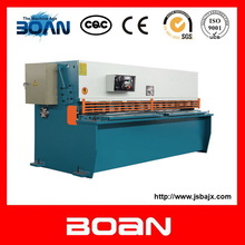 Metal sheet QC12Y-8X3200 hydraulic shearing guillotine shear/cutting machine