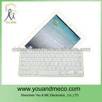 Hot alumumun Lithium Battery wireless bluetooth keyboard for ipad mini