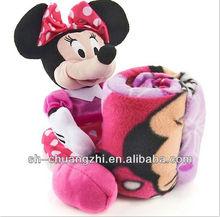 Minnie Mouse 100% cotton plush baby blanket