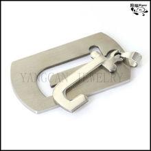 fabbrica ordine alfabeto decorativo lettere in acciaio inox ciondolo uomini