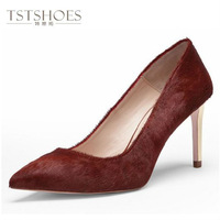 2014 Custom Designed High Heel Shoes Thin Heel Pointed Toe Shoes Wholesale Stainless Steel High Heels Shoes