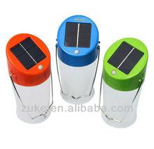 0.5W Work/Study/Cook/Travel, Green/Red/Blue/Orange Solar Hurricane Camping Lanterns, Lamps-ZK-S06