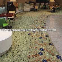hotel Lounge carpet , printed carpets .