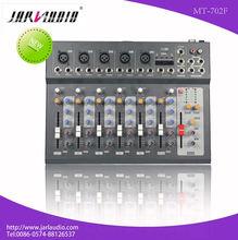 ULTRA LOW NOISE audio mixer 5 channels audio mixer 48V phantom audio mixer