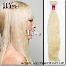 Beautiful high quality blonde color 5A grade peruvian hair