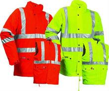 EN11612 tear resistant C/N flame retardant jacket for welding workers
