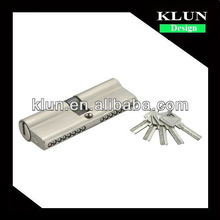 80mm Wood key core Door Lock Cylinder ,double side with computer key LMS-8001A