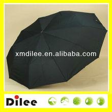 flat fold fabric wholesale black mini umbrella