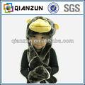 Los juguetes para niños, las orejas de los animales de piel a largo sombrero, monkey sombrero