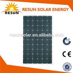New energy 140w solar panel solar power system