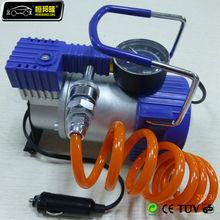12V car air compressor fix a flat tire inflator