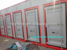 Qingdao 20ft storage container with five door