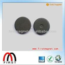 MARKED isotropic ferrite magnet C1 tile/strip/round/bar