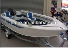 17ft deep-v aluminum fishing boat