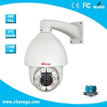 480TVL 1/4'' SONY CCD auto track vehicle mounted ptz dome camera