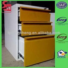 Metal drawer rolling cabinet Corner cabinet filing cabinet office furniture