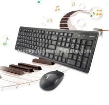 TDX120 2.4Ghz Wireless Multimedia Entertainment Keyboard