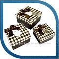 paquete de cajas de cartón para tarta caja de embalaje