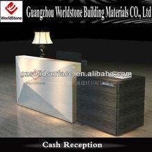cheap simple cash reception counter