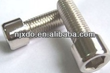 317L OOCr19Ni13MO3 S31726 stainlss steel hardware fasteners bolt with ball socket hexagon socket head bolt