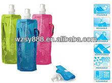 Activity/festival promotional foldable water bottles