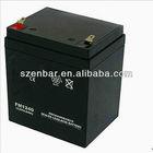 Rechargeable lead acid UPS battery 12v 5Ah solar battery