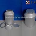 botella de aluminio fabricante del cubo de lata con tapa para medicinales en polvo de bajo precio